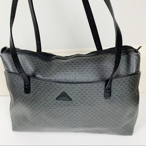 Vintage 80s Liz Claiborne Triangle Tote Bag D21